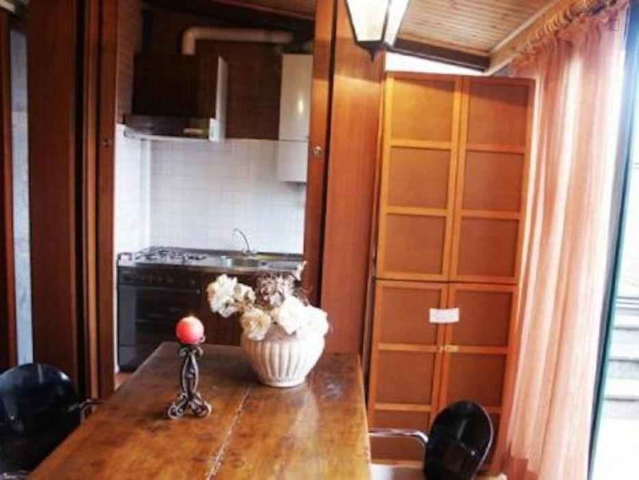 Pleasant 2-bedroom duplex in Trastevere