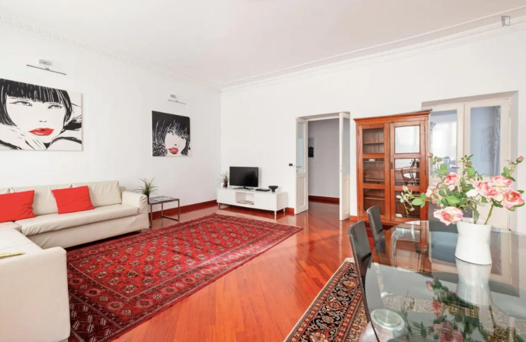 Bright 2-bedroom apartment near Vaticano