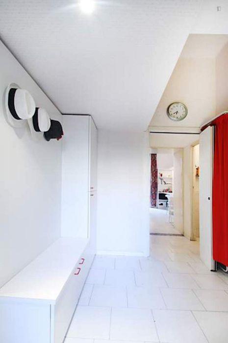 Modern 1-bedroom apartment in Corso Genova