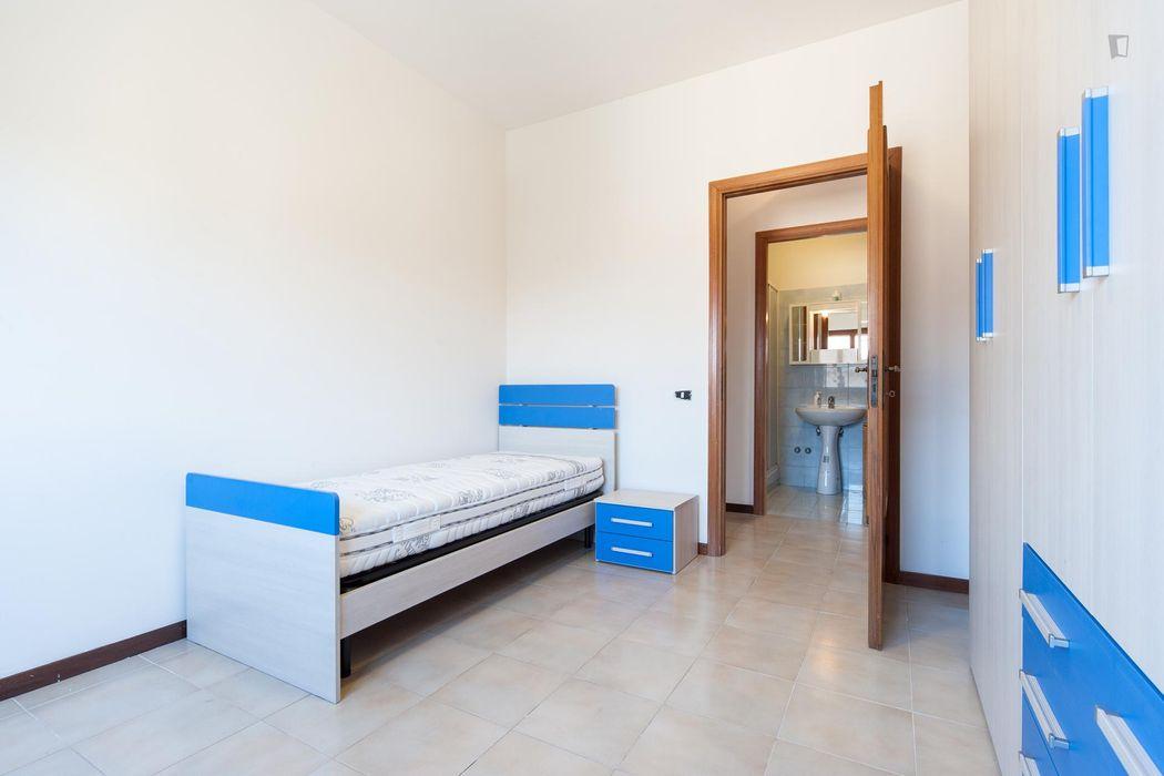 Friendly 3-bedroom apartment in San Basilio