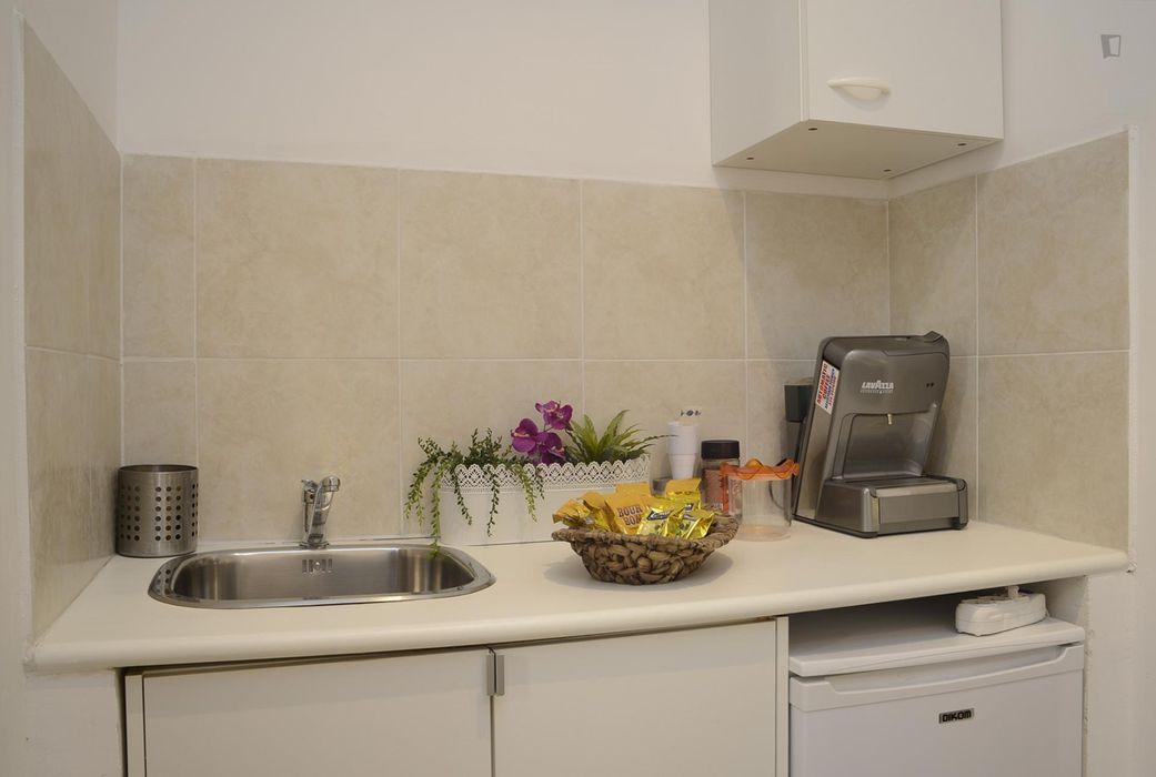 Very modern and fresh studio apartment near the Pontificia Università Lateranense