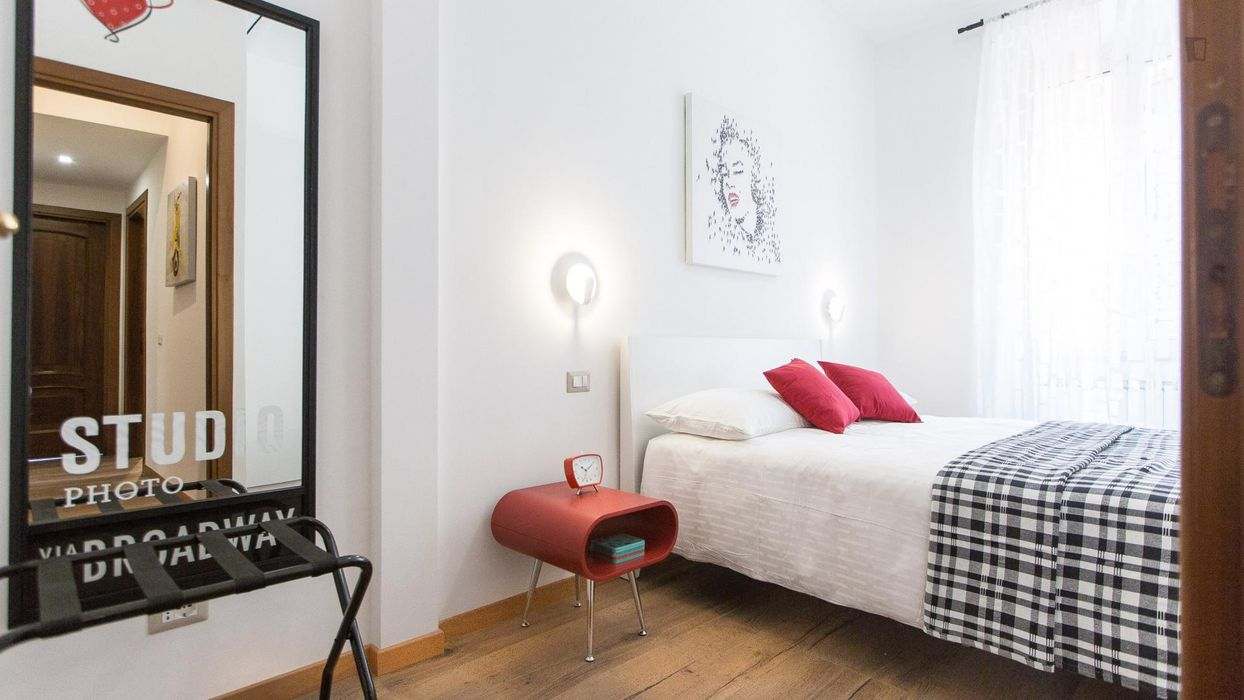 Shiny and elegant 3-bedroom apartment in Trionfale