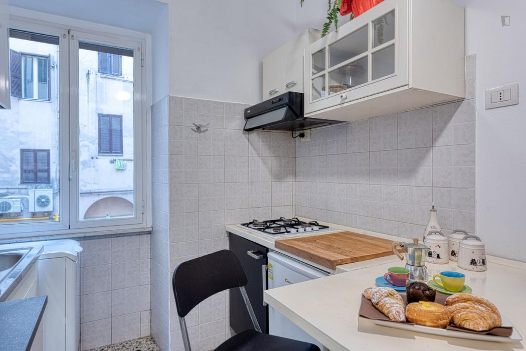 Alluring 1-bedroom apartment near Vittorio Emanuele metro station