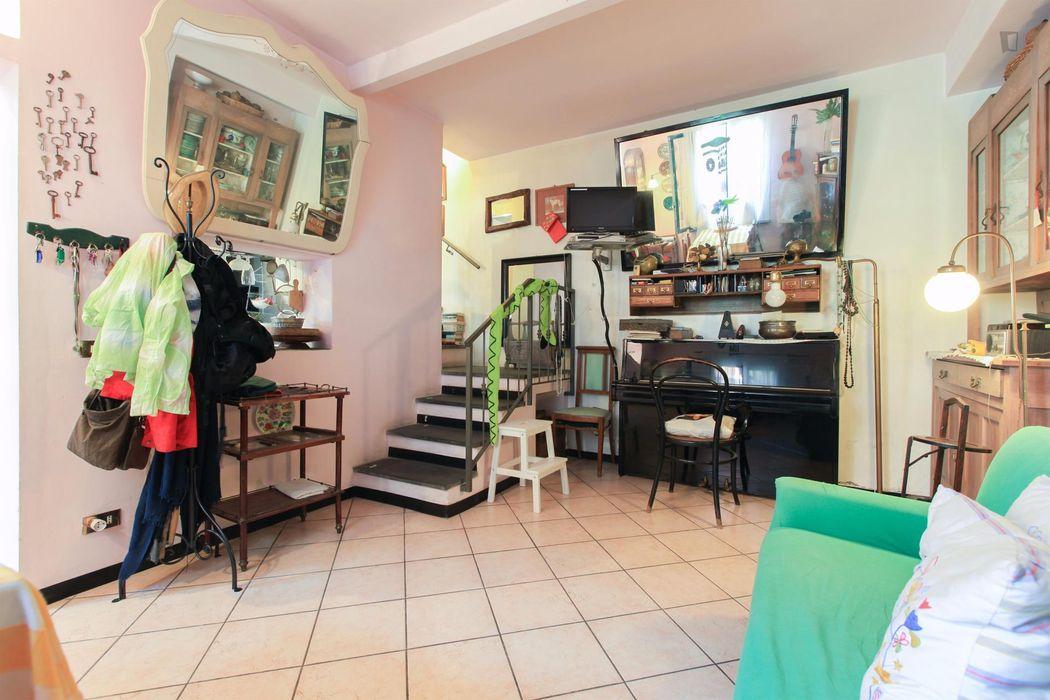 Double ensuite bedroom in Ripamonti - lodi - bazzi