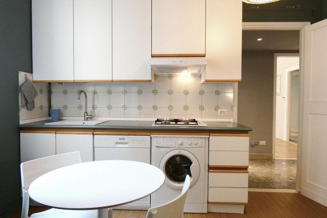 Spacious 2-bedroom apartment near Missori metro station