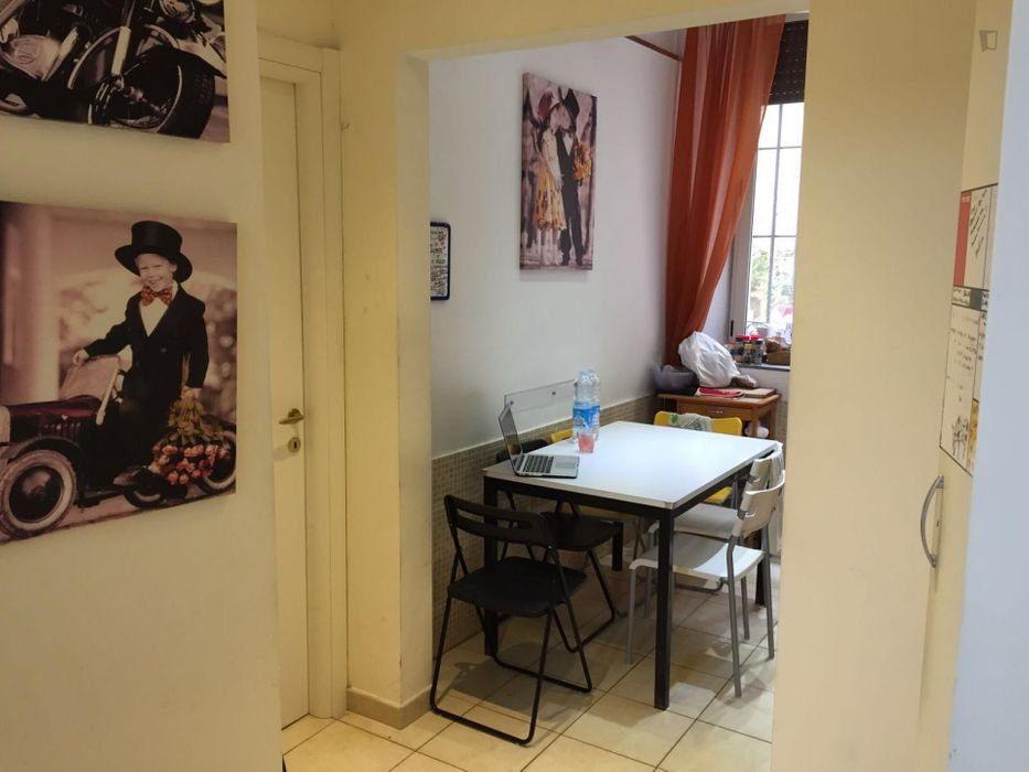Single bedroom close to Rufa - Rome University of Fine Arts