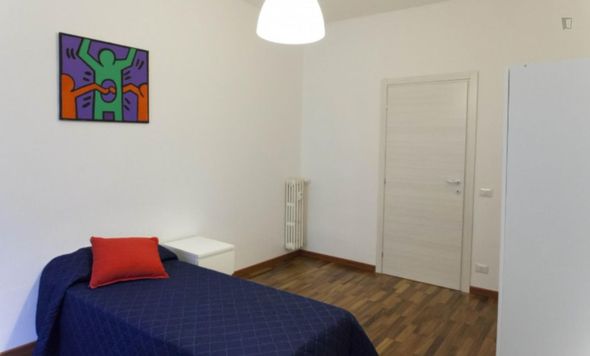 Cosy single bedroom in Quartiere XVI Monte Sacro
