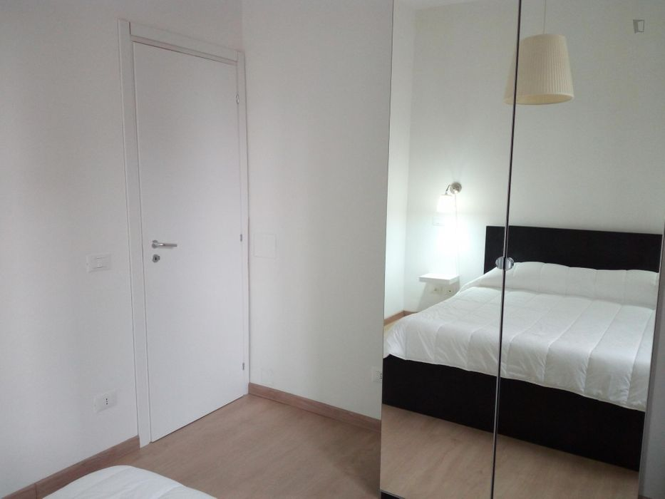 Double bedroom in 2-bedroom apartment