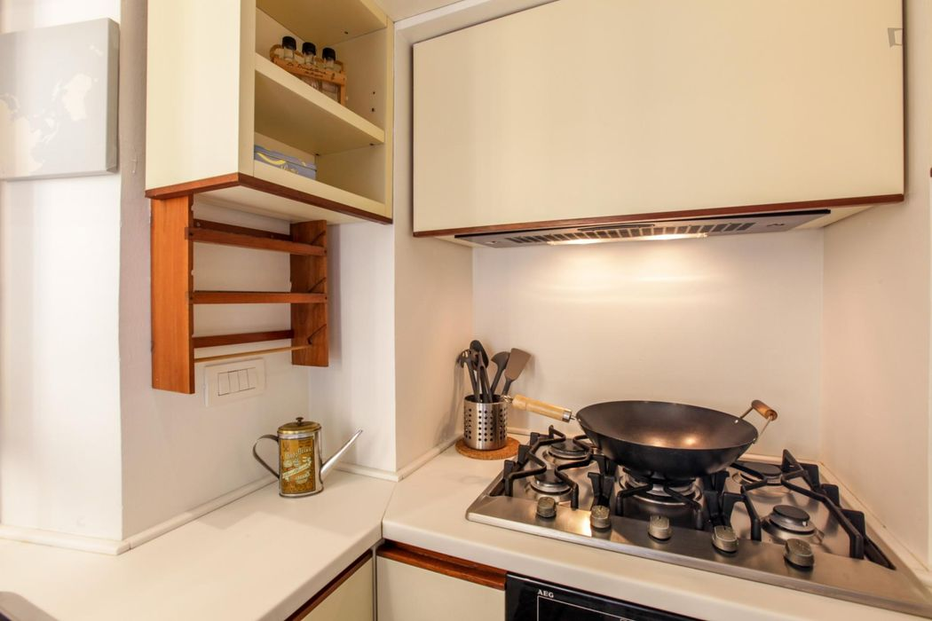 Cool 1-bedroom apartment close to S. Ambrogio metro station