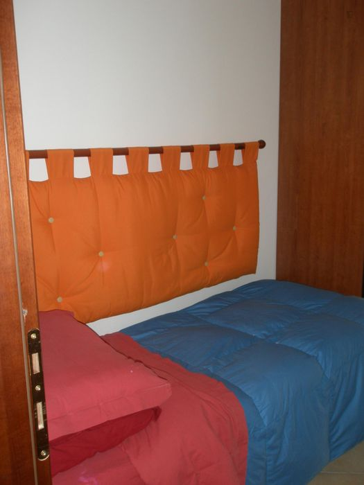 Double bedroom, with private bathroom and balcony, in 2-bedroom apartment