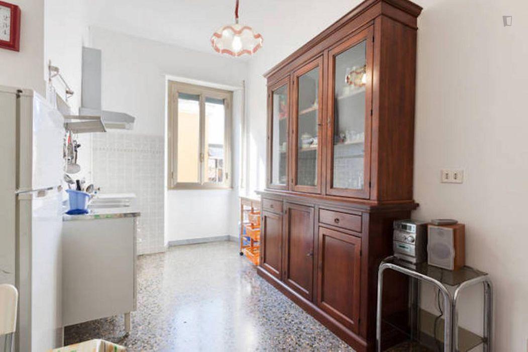 Bright 2-bedroom apartment close to Sapienza Università di Roma