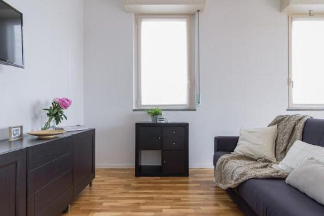 Inviting 2-bedroom flat near Rovereto metro station