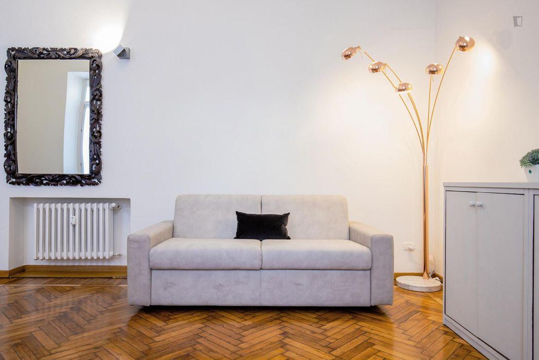 Stylish 1-bedroom apartment near Colonne di San Lorenzo