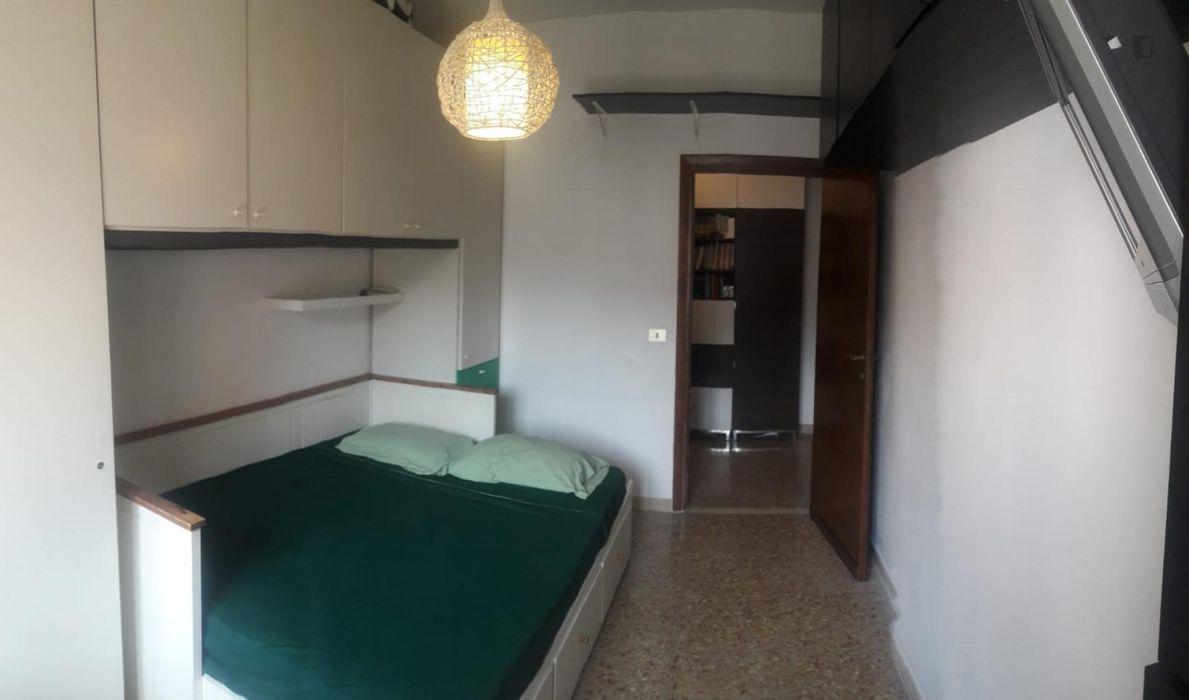 Ensuite Bedroom with Balcony near Prenestina