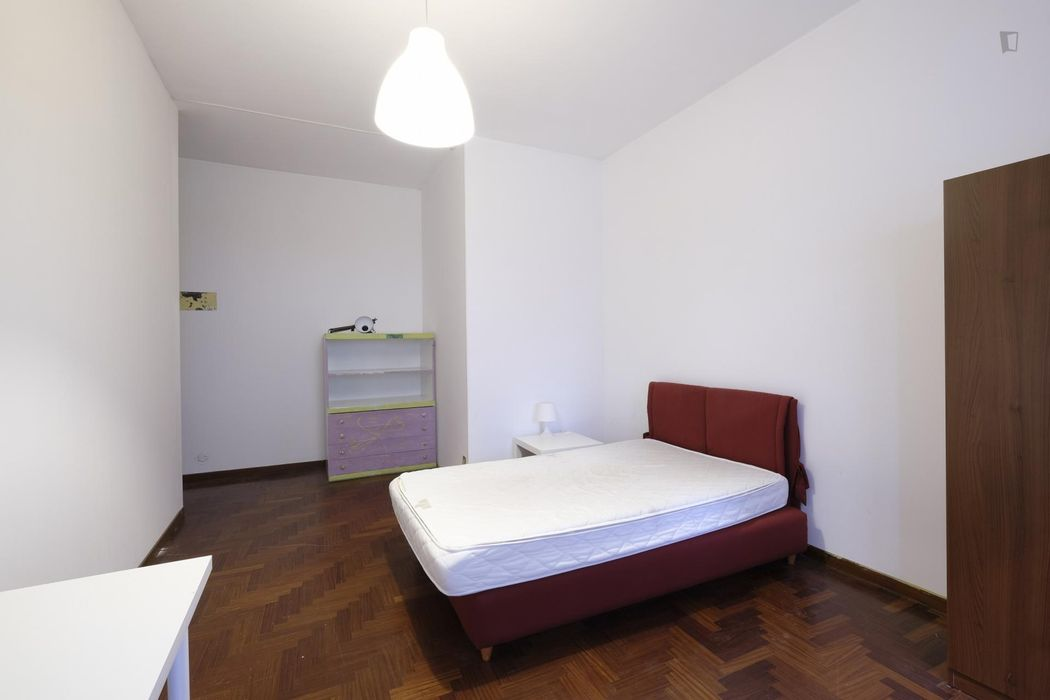 Double bedroom with private balcony near Colli Albani metro station