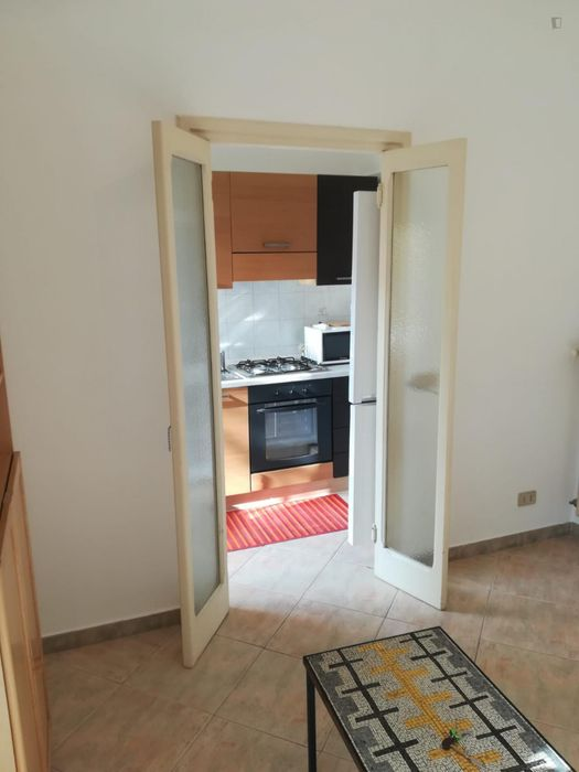 Nice and cosy double bedroom in Tufello