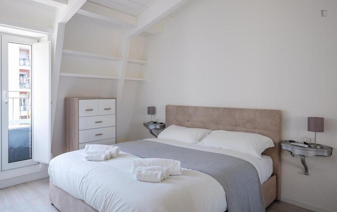 Stylish 1-bedroom apartment in Lorenteggio area
