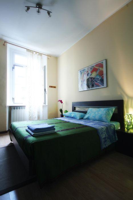 Pleasant 1-bedroom apartment in Porta Romana
