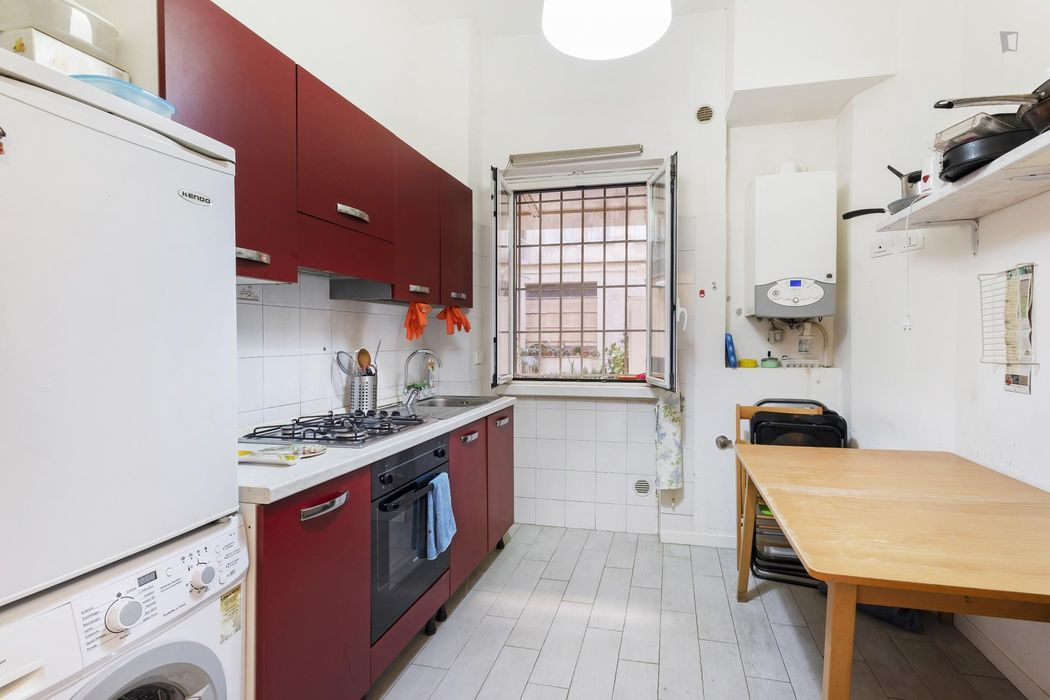 Cool single bedroom in close to LUISS University