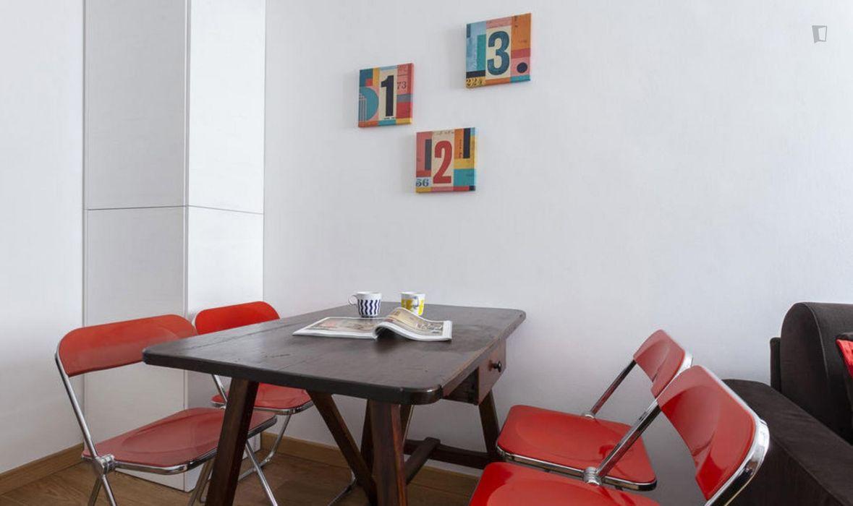 Excellent 1-bedroom apartment in Navigli