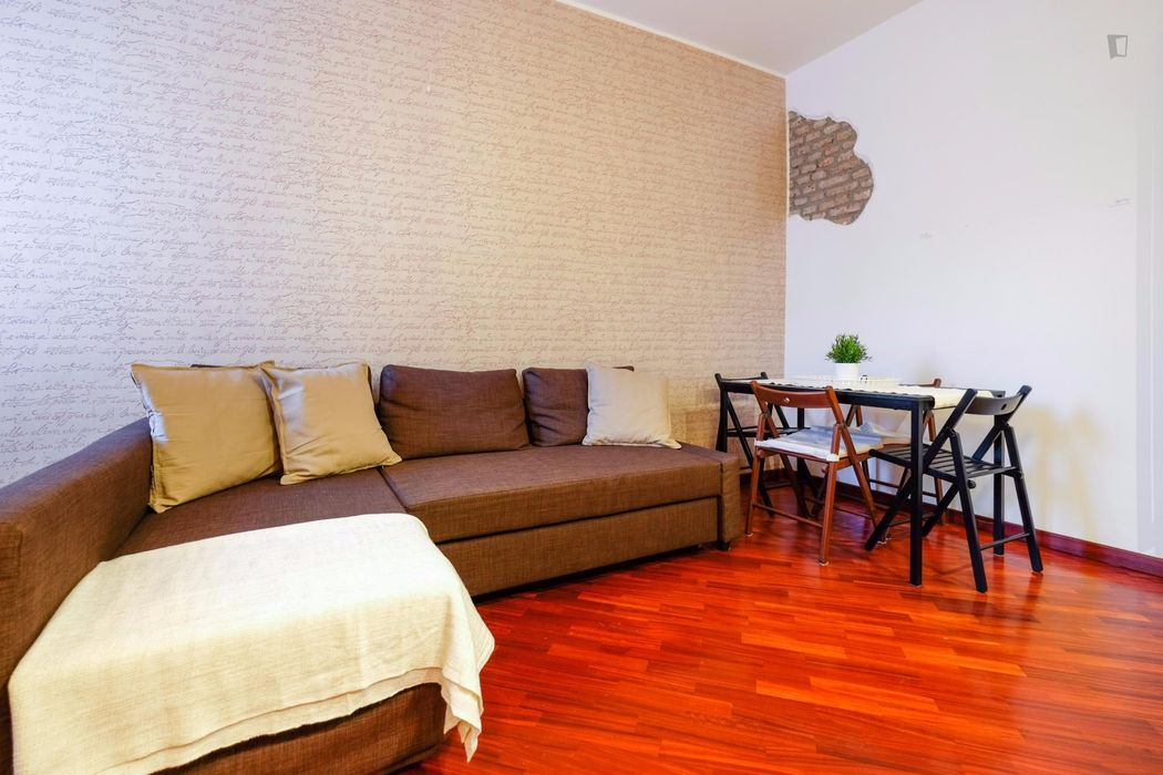 Nice 1-bedroom apartment in proximity to Parco Trotter