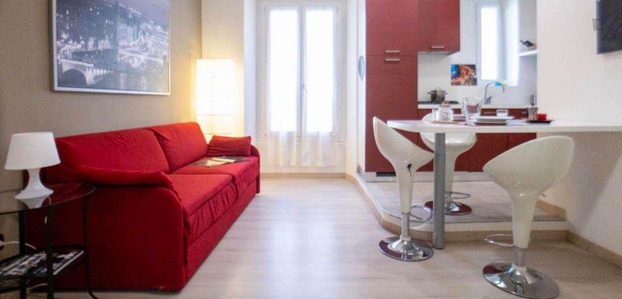 Elegant 1-bedroom apartment in beautiful Navigli