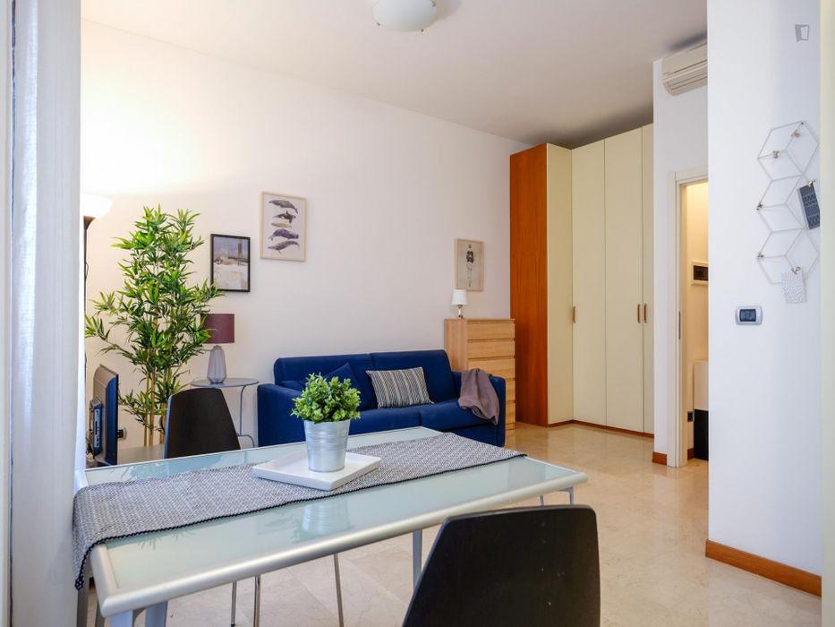 Lovely studio in Corso Sempione area