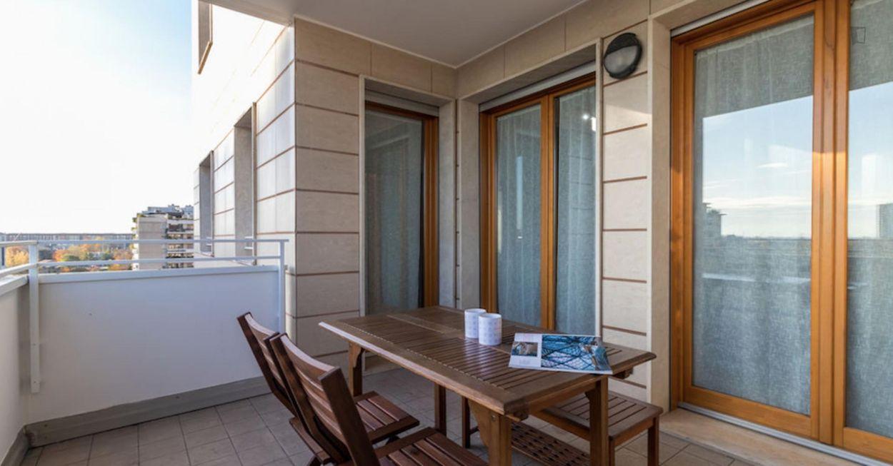 Bright 1-bedroom apartment near Parco delle Memorie Industriali