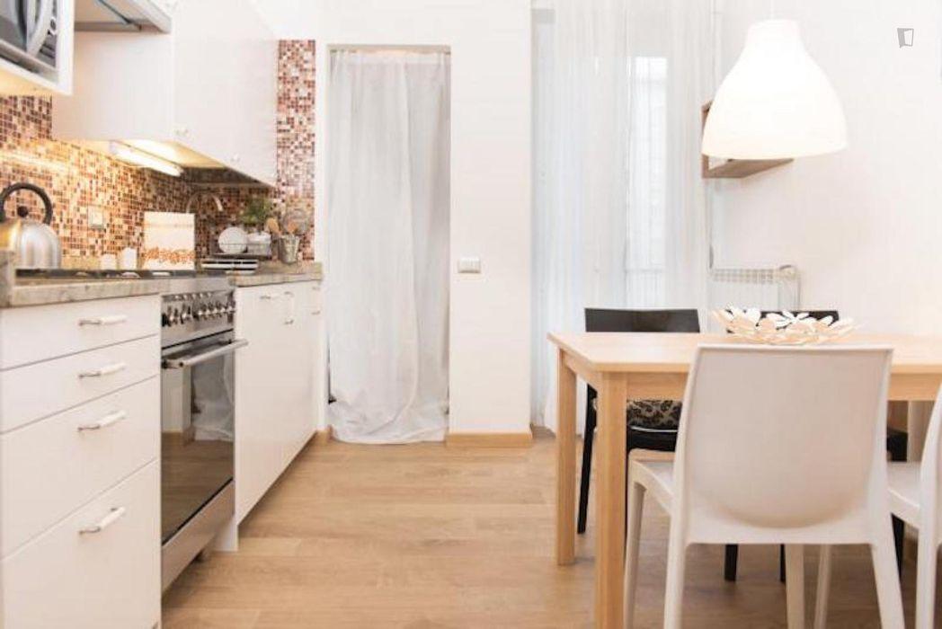 Attractive 1-bedroom apartment in Città Studi-Politecnico