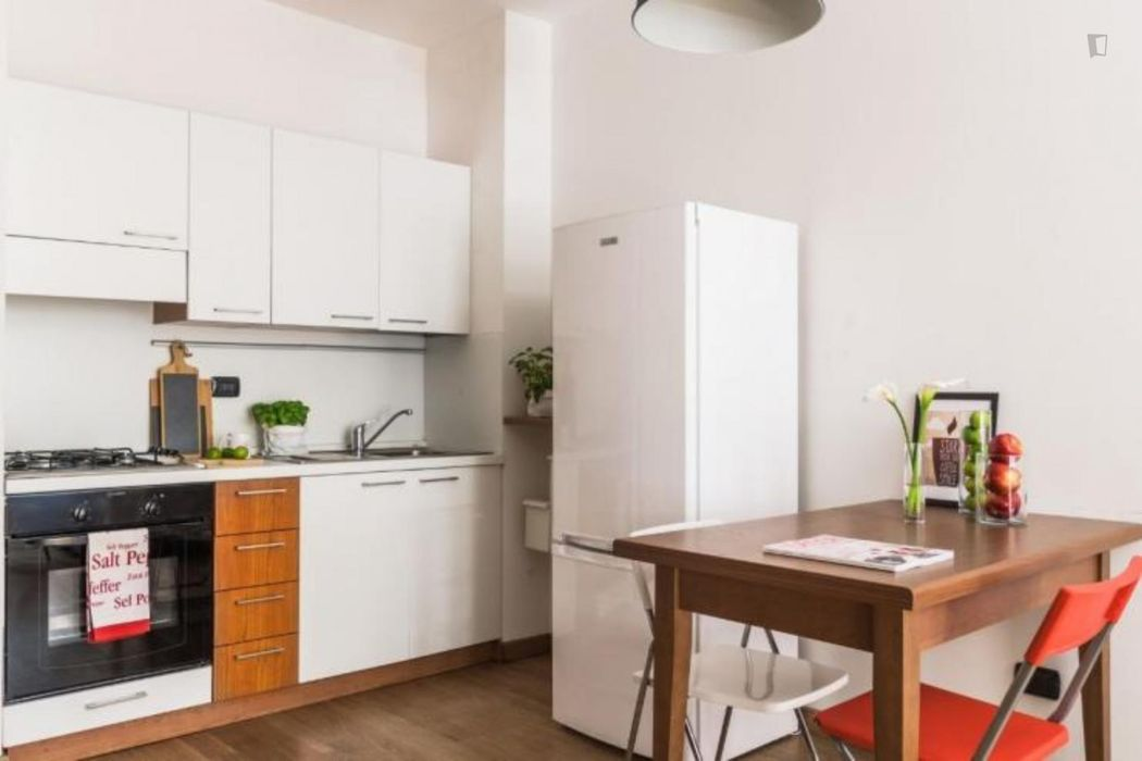 Cool 1-bedroom flat in Navigli