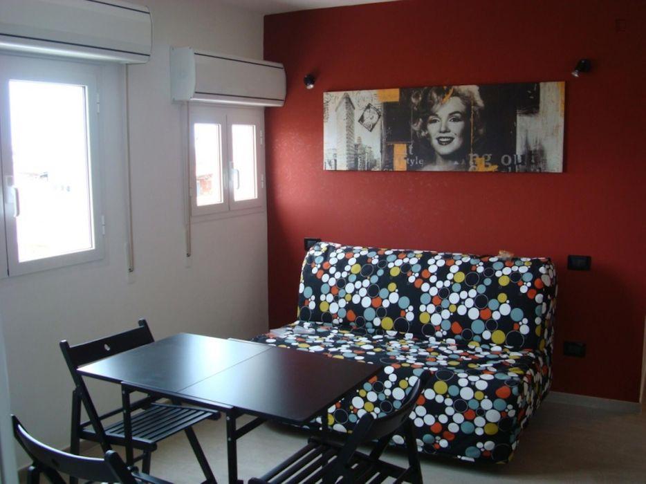 Pleasant studio apartment in Ostia