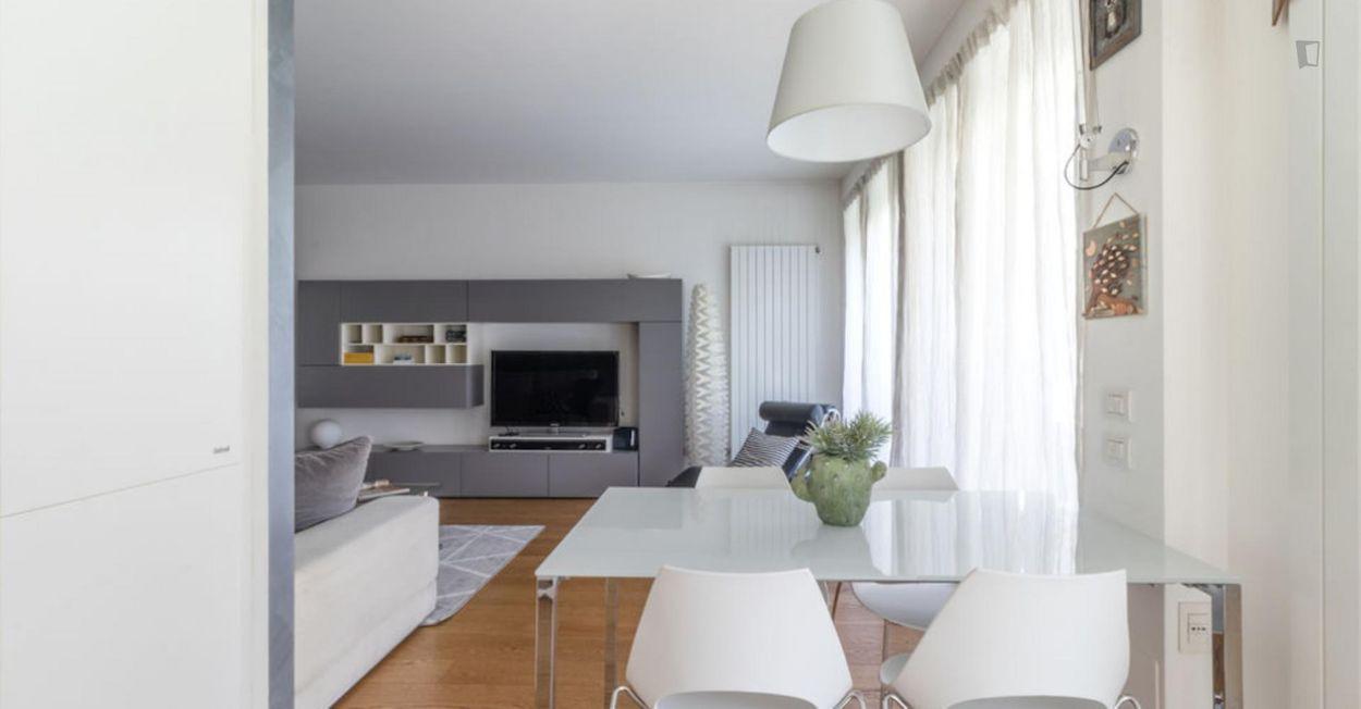 Bright 2-bedroom apartment in Monza