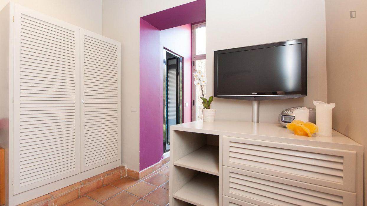 Spacious apartment in Trastevere