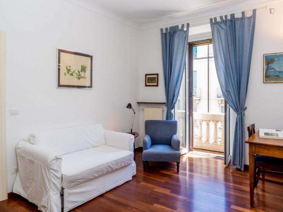 Amazing 2-bedroom apartment close to Porta Venezia metro station