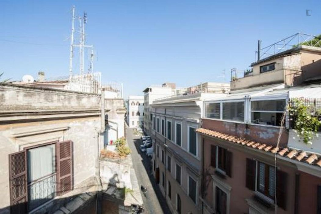 Large 3-bedroom apartment in Trastevere