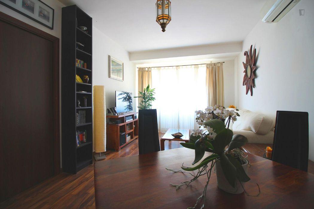 Cozy 1-bedroom apartment near Cipro metro station