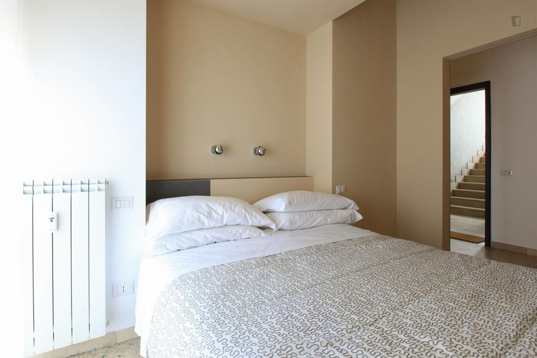 Alluring 1-bedroom apartment near the Lambrate Fs metro station