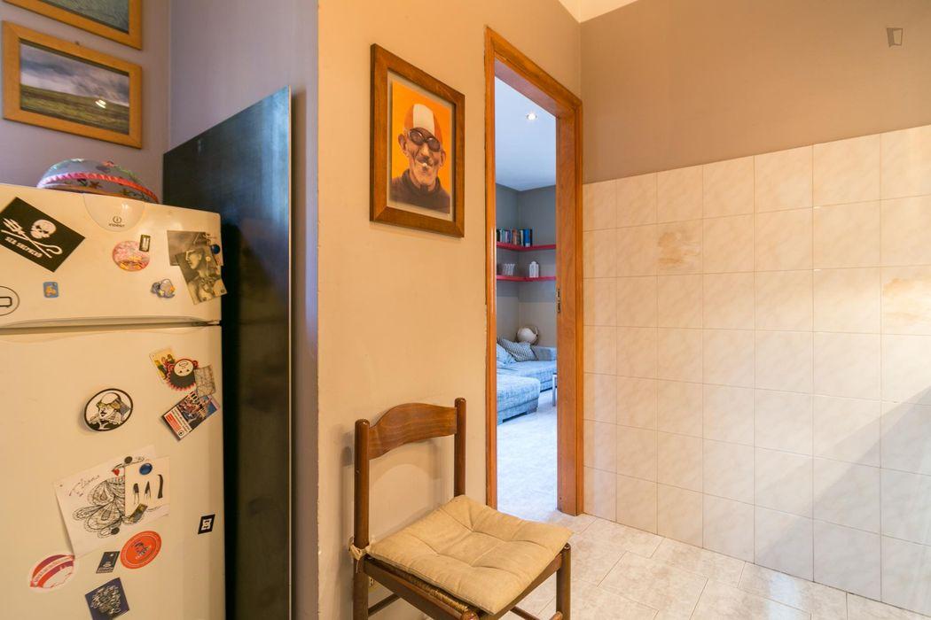 Double bedroom in 2-bedroom apartment