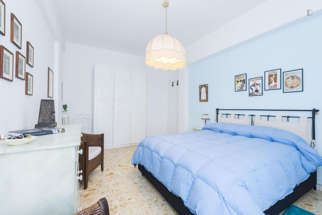Attractive double bedroom near the Colli Albani metro