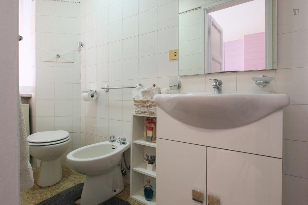 Luminous 1-bedroom apartment, near the Pasteur metro station