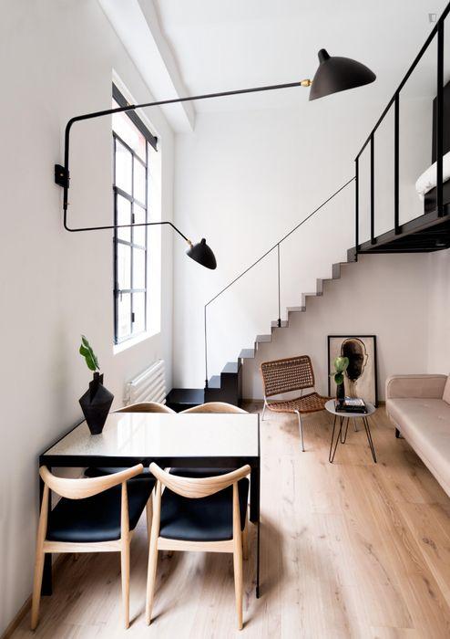 1-bedroom apartment in Porta Nuova neighbourhood