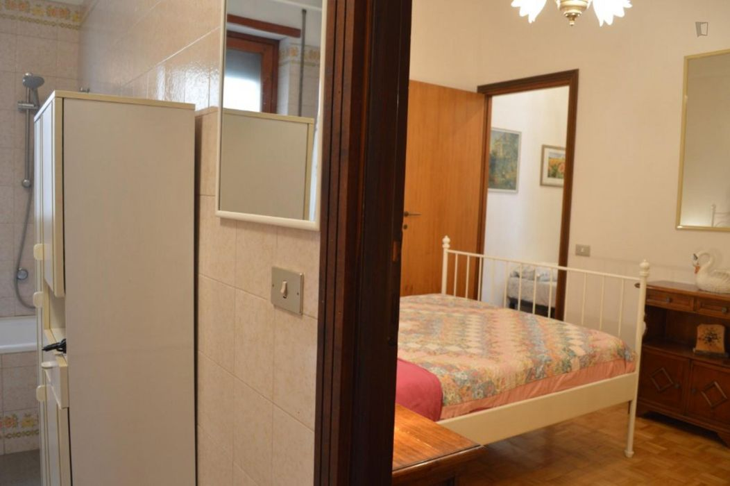 2-bedroom apartment, with outdoor area, 15 minutes from the train station Termini