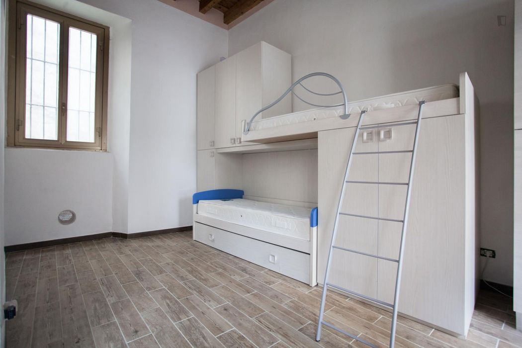 Compact and welcoming studio in the Villapizzione neighbourhood