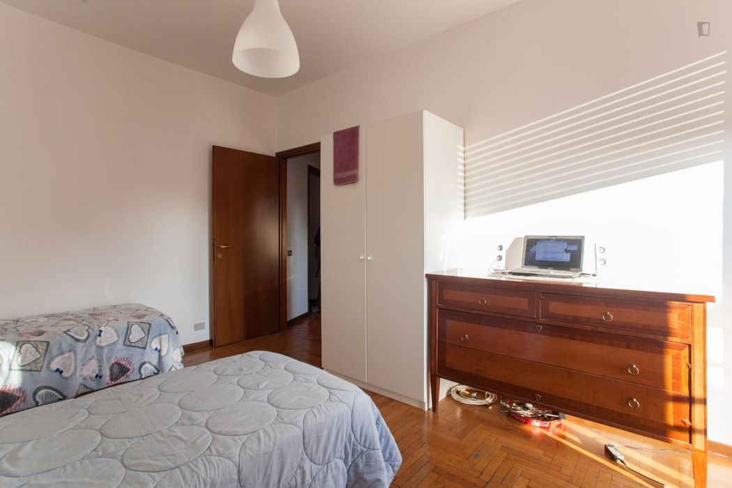 Simple and welcoming 2-bedroom apartment in Vimodrone