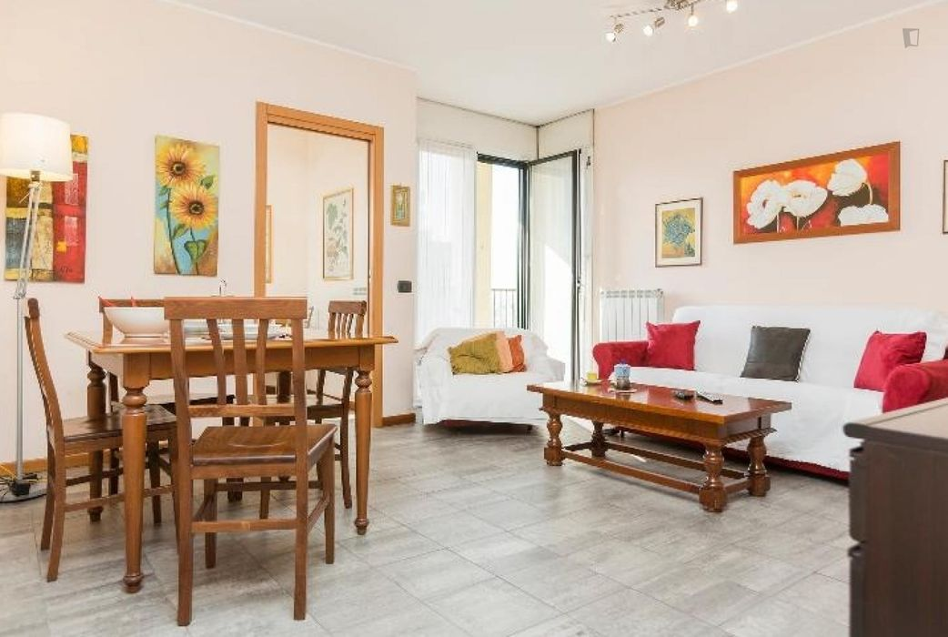 Cool and comfortable 1-bedroom flat near Universita' IULM