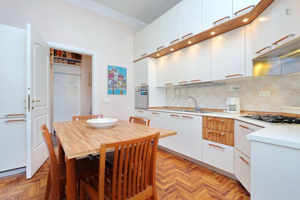 Delightful 2-bedroom apartment near Sapienza Università di Roma