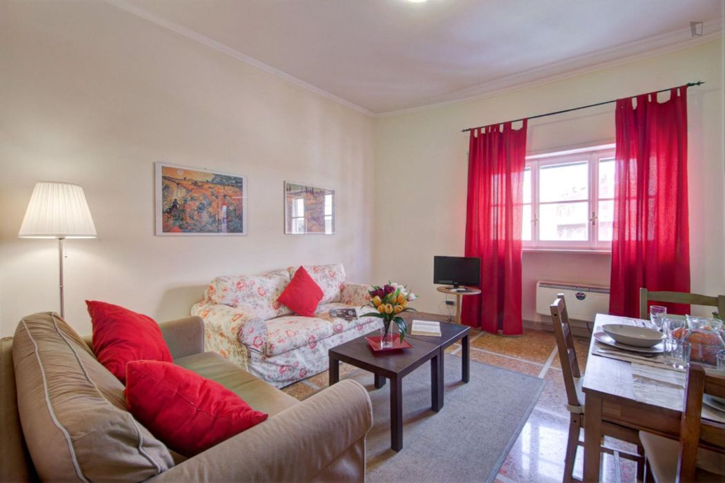 Admirable 1-bedroom apartment near the Euclide train station