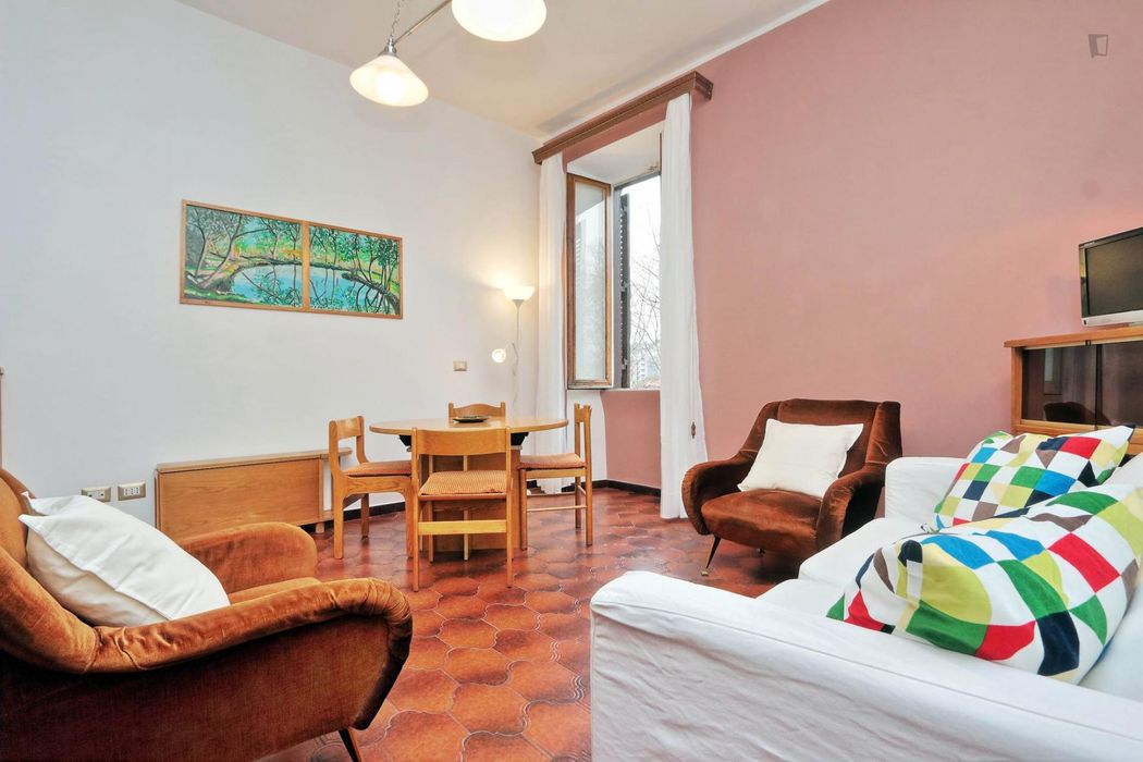 Fine 2-bedroom flat in Testaccio
