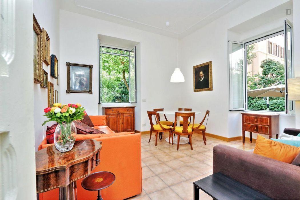 Posh 1-bedroom apartment in Quartiere XV Della Vittoria