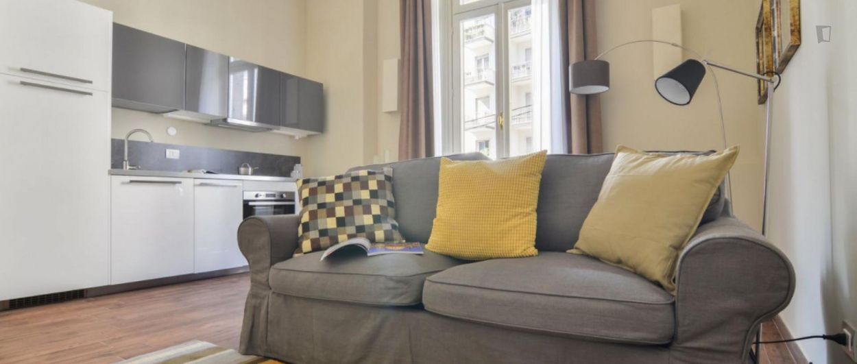 Charming 1-twin-bedroom apartment close to the Università degli Studi di Milano
